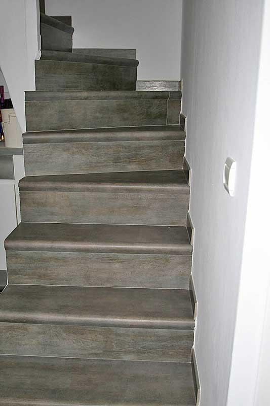 Les r alisations de performance carrelage carreleur dans for Carrelage escalier